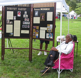 Sept18-2004 Sesquicentennial-OralHistory celebration in South Park.